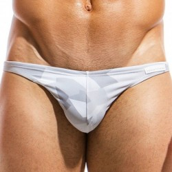 Desert Low Cut Swim Brief - Grey