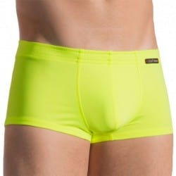 Olaf Benz BLU 1658 Sunpants Swim Boxer - Neon Yellow