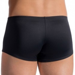 BLU 1658 Sunpants Swim Boxer - Black