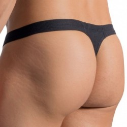 RED 1764 Mini Thong - Black
