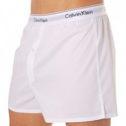 Calvin Klein Lot de 2 Caleçons Modern Cotton Blancs