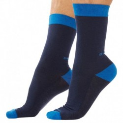 3-Pack Touch of Color Socks - Blue