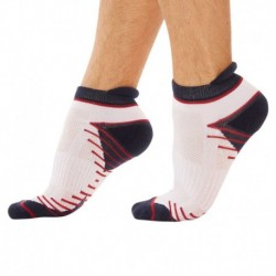 2-Pack X-Temp Sport Bobby Socks - Navy - White