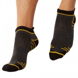 2-Pack X-Temp Sport Bobby Socks - Black - Grey