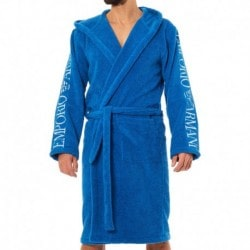 Sponge Bathrobe - Sky Blue