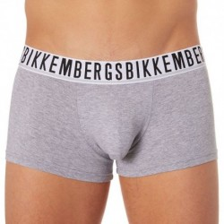 Bikkembergs Lot de 2 Boxers Stretch Cotton Gris