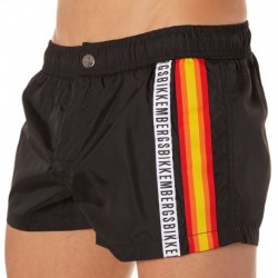 Tape Swim Short - Black