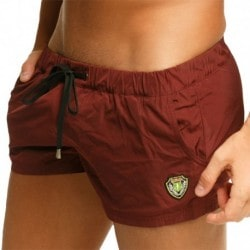 Marcuse League Swim Short - Burgundy