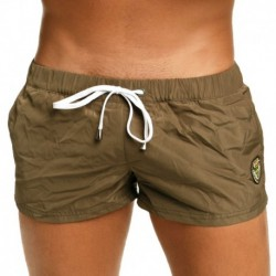 Marcuse League Swim Short - Khaki
