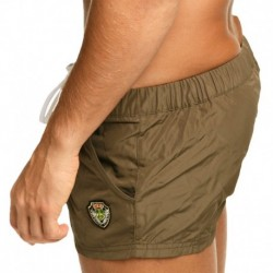 League Swim Short - Khaki