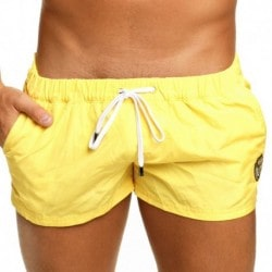 Short de Bain League Jaune