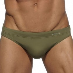 Basic Colors Swim Brief - Khaki