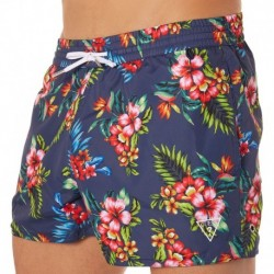 Reversible Swim Short - Navy