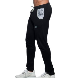 Addicted Pantalon Geoback Noir