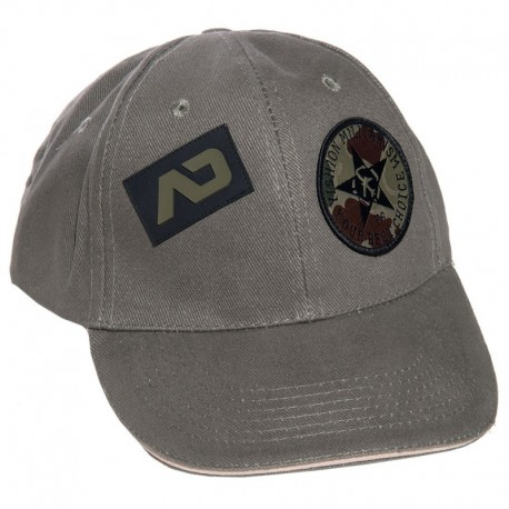 Addicted Casquette Army Grise