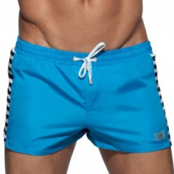 Sailor Colored Swim Short - Turquoise
