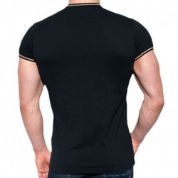 Lurex Mao T-Shirt - Black