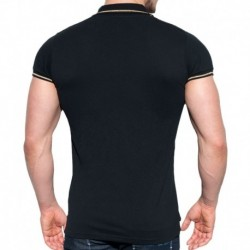 Lurex Polo - Black