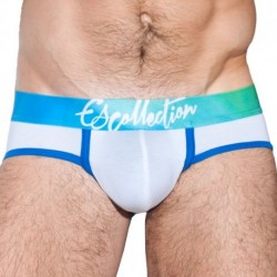 ES Collection Digital Aguas Waistband Brief - White