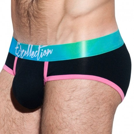 ES Collection Slip Digital Aguas Waistband Noir
