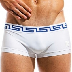Meander Swim Boxer - White