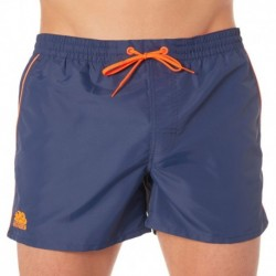 Rosco Piping Swim Short - Navy