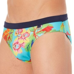 HOM Paradisiaque Swim Brief - Turquoise