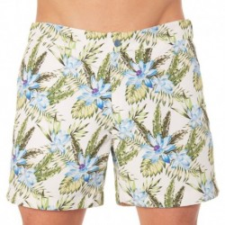 Kris Swim Short - Flowers
