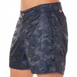 Kris Swim Short - Navy Camouflage