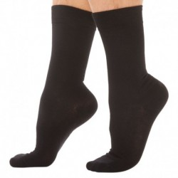 3-Pack Cotton Socks - Black