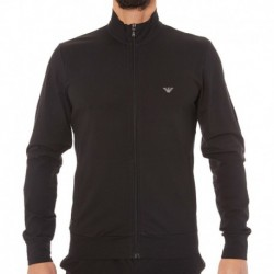 Emporio Armani Zip Basic Loungewear - Black