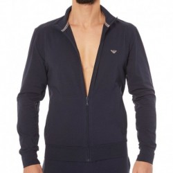 Zip Basic Loungewear - Navy