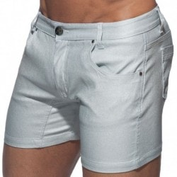 Addicted Metal Short - Silver
