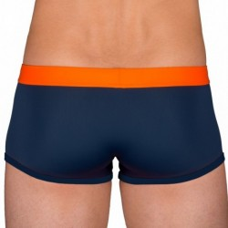 Boxer de Bain Marine - Orange