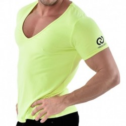 V-Neck T-Shirt - Yellow