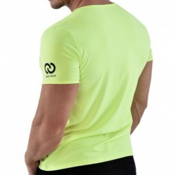 T-Shirt V-Neck Jaune