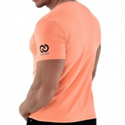 Roberto Lucca T-Shirt V-Neck Orange