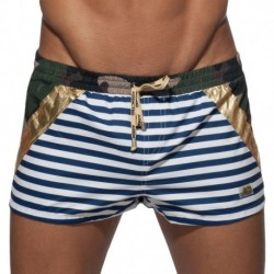 Short de Bain Metal Sailor Kaki
