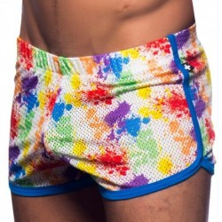 Short Jogger Pride Splash Mesh