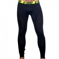 Vibe Active Mesh Legging - Black