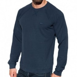 ES Collection Cotton Knit Sweatshirt - Navy