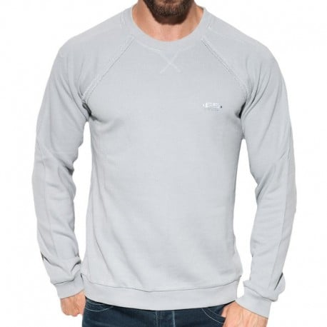 ES Collection Sweat-Shirt Cotton Knit Argent