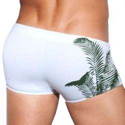 ES Collection Dennis Jungle Swim Boxer - White
