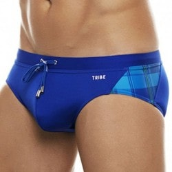 Tribe Highland Fling Swim Brief - Electric Blue - Cobalt