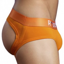 Rounderbum Pride Jock Brief - Orange