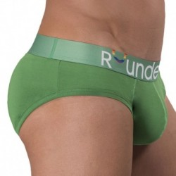 Rounderbum Pride Padded Brief - Green