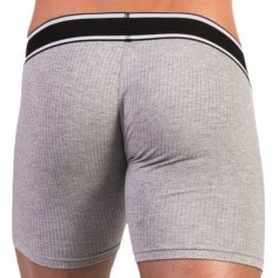 Barcode Boxer Long Ross Gris