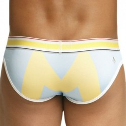 Marcuse Monument Brief - Light Blue