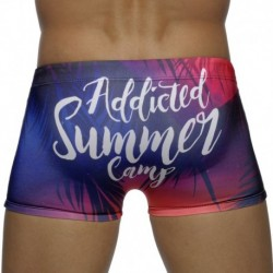 Addicted Boxer de Bain Summer Camp Digital Tropical
