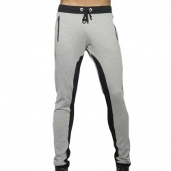 ES Collection Pantalon Combi Pique Gris